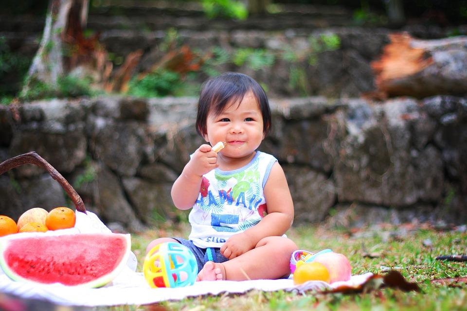 mata piknikowa dla dziecka